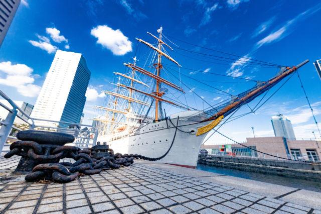 【帆船日本丸 横浜みなと博物館】